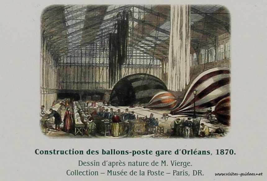 construction de ballons poste