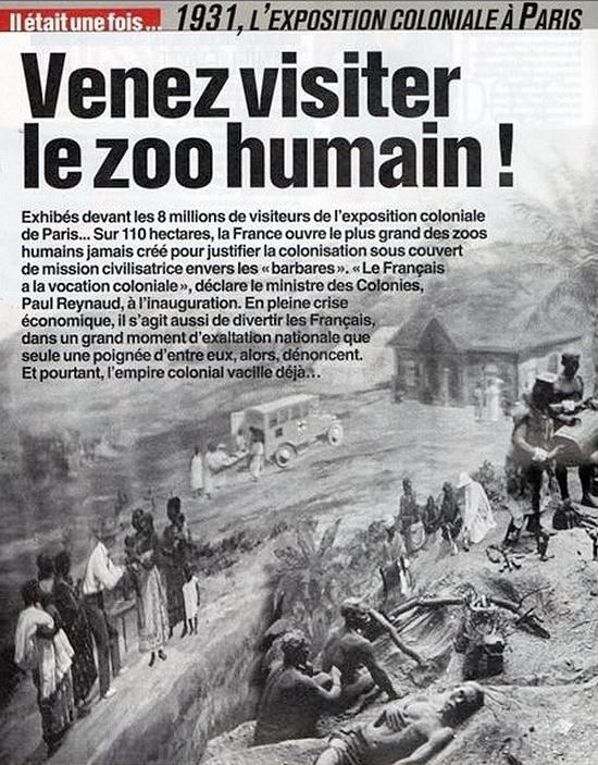 Jardin d'Acclimatation visite du zoo humain