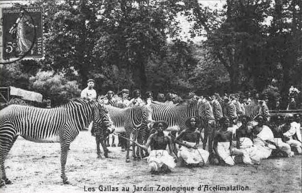 Jardin d'Acclimatation zoo humain