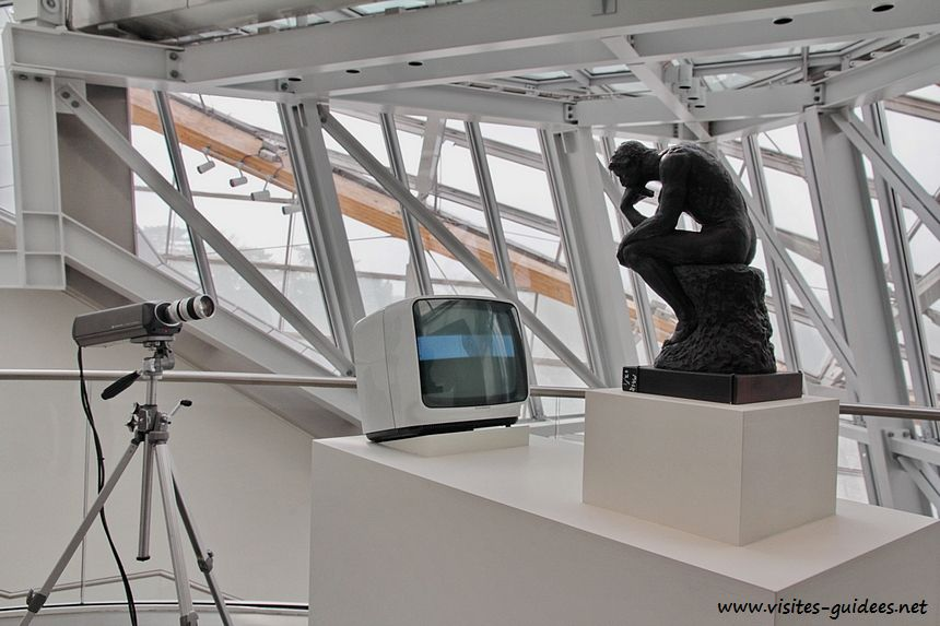 Fondation Louis Vuitton TV Rodin (Le Penseur)