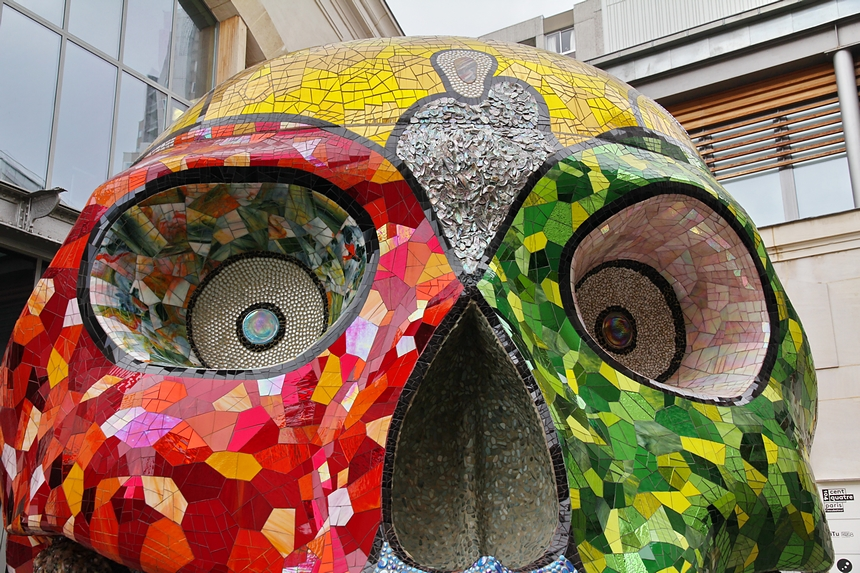 La Cabezza Niki de Saint Phalle