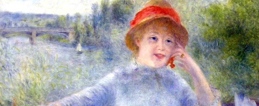 Alphonsine Fournaise Renoir Musée Orsay