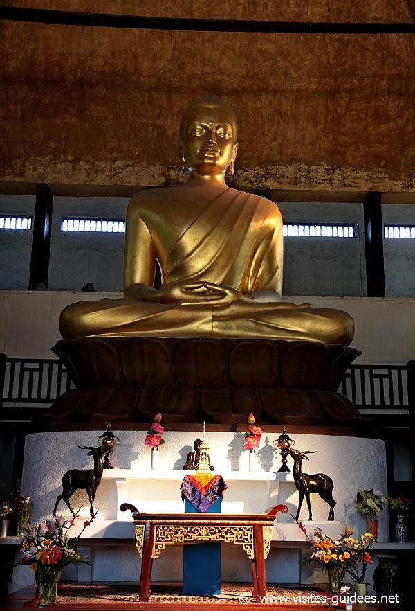 Les reliques de Bouddha Grande Pagode de Vincennes