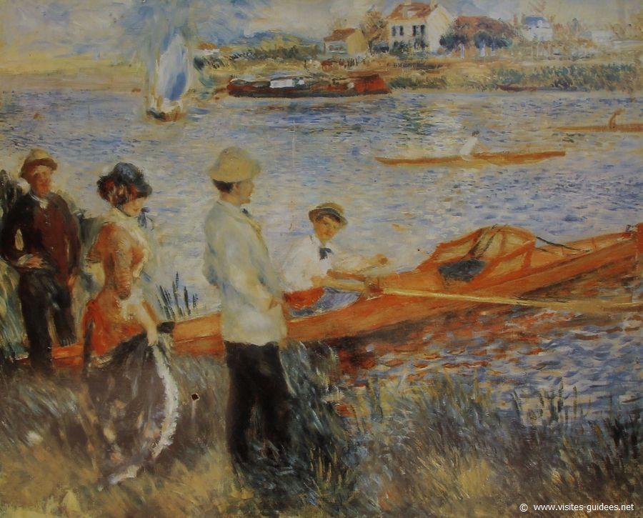 Renoir Rameurs à Chatou