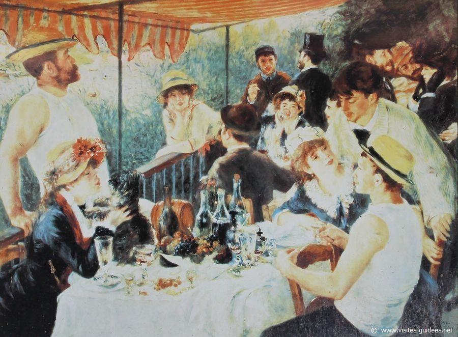 Renoir le Déjeuner des Canotiers