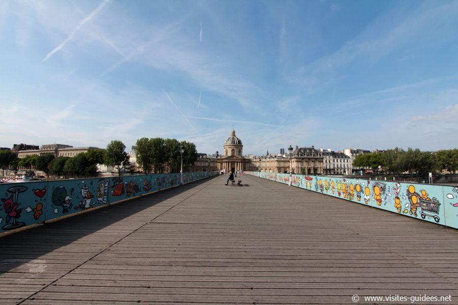 Street Art au Pont des Arts
