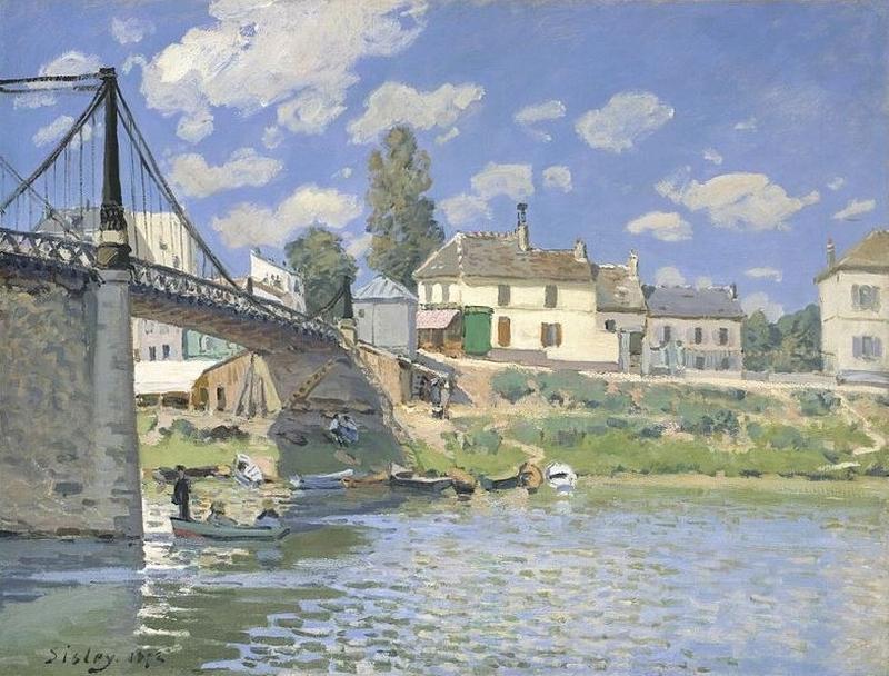 Sisley pont Ile Saint Denis