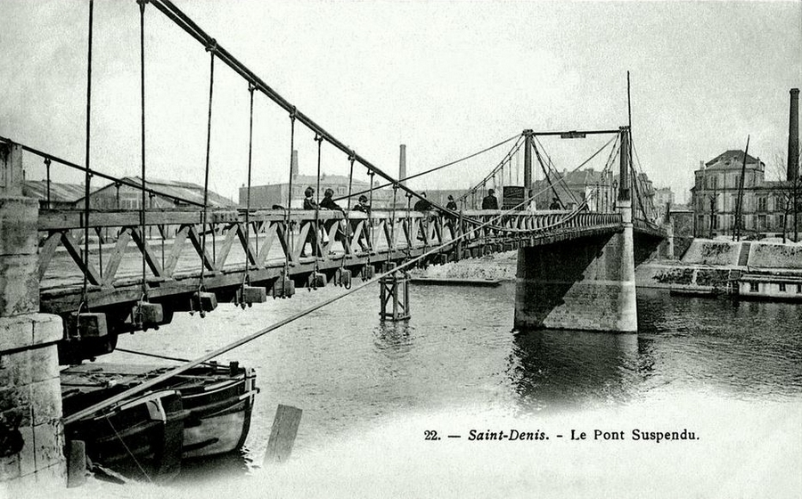 ancien pont Ile Saint Denis