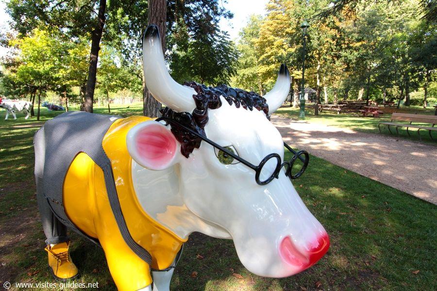 Cowluche Cow Parade Jardin d'Acclimatation
