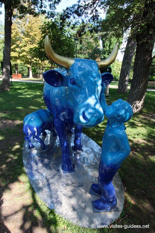 ow Parade Une vache et l'enfant Juliette Durand