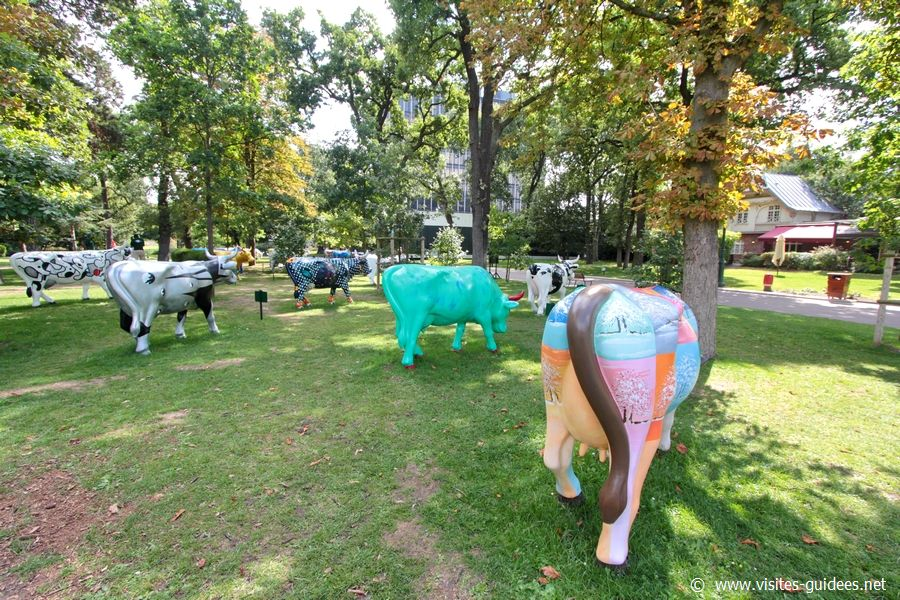 Cow Parade Jardin d'Acclimatation
