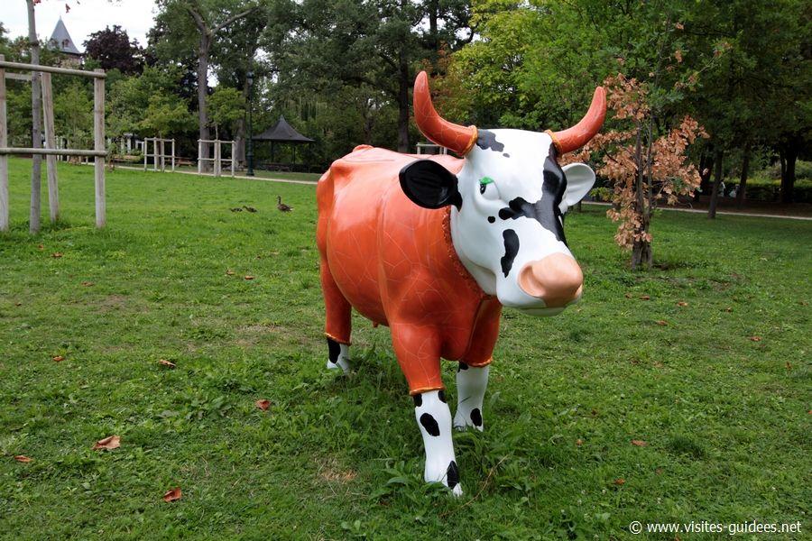 Cow parade Vache de Choichons François Mollon