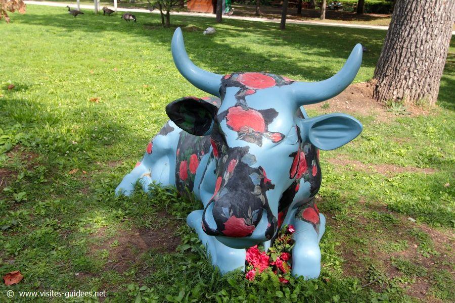 Cow Parade Violetta Frédéric Brandon