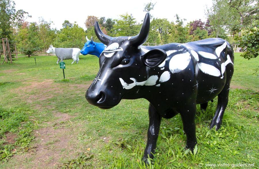 Cow Parade Jardin d'Acclimatation Voie Lactée