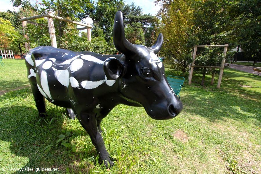 Voie Lactée Cow Parade Jardin d'Acclimatation