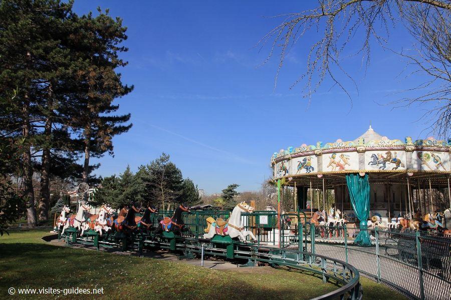 Jardin d'Acclimatation les manèges