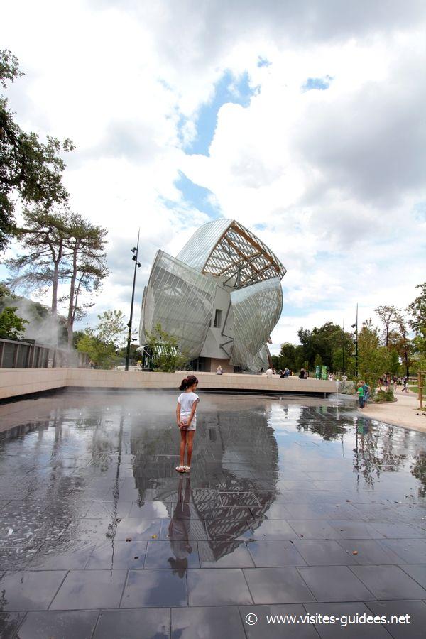 Fontaine sèche Jardin d'Acclimatation