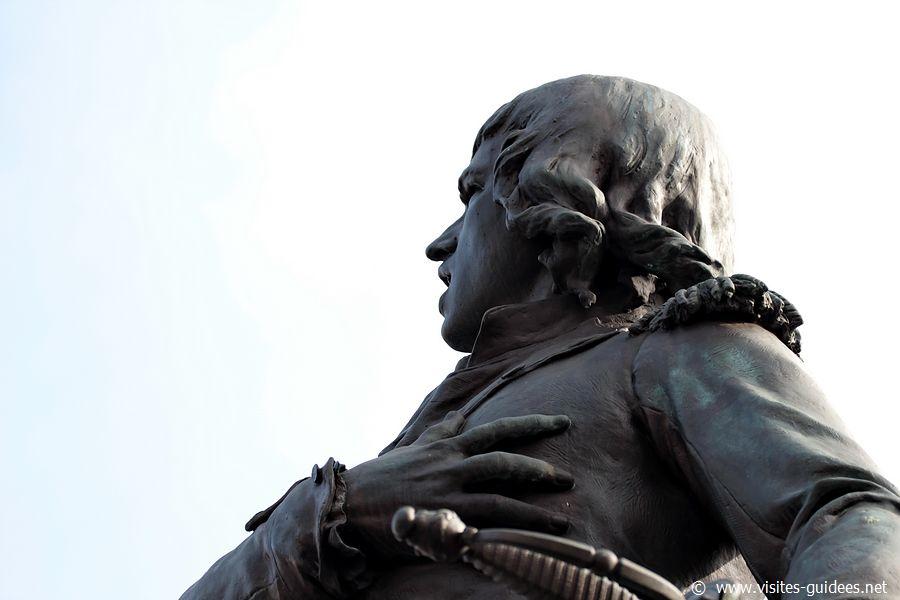 Statue de Rouget de Lisle Choisy le Roi
