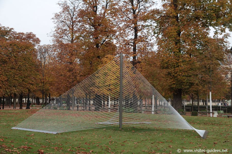 FIAC Tuileries 2015 Xavier Veilhan