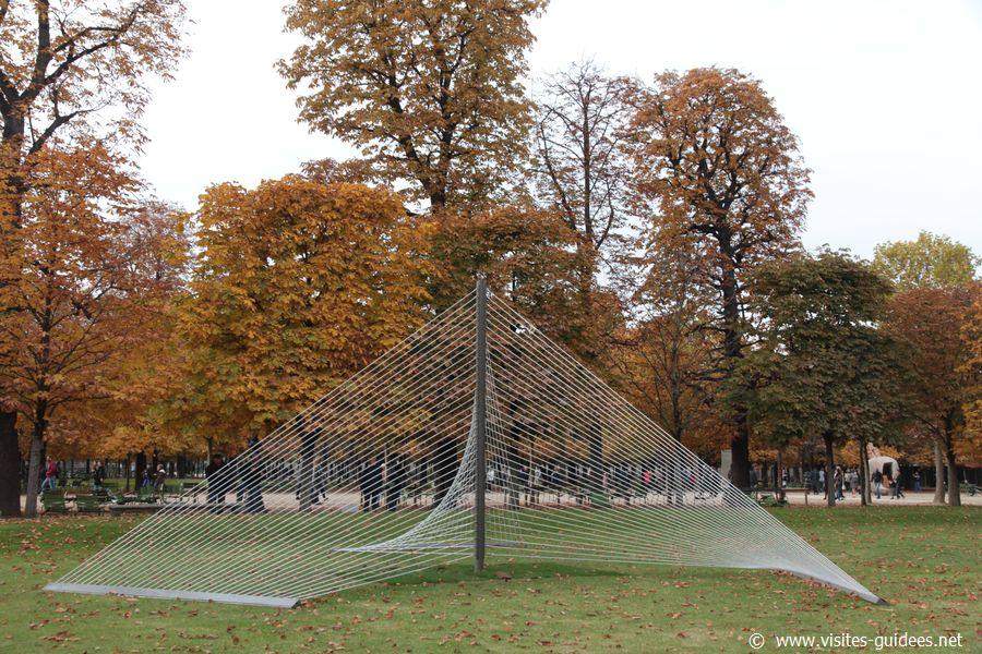 FIAC Tuileries 2015 Xavier Veilhan Rayons