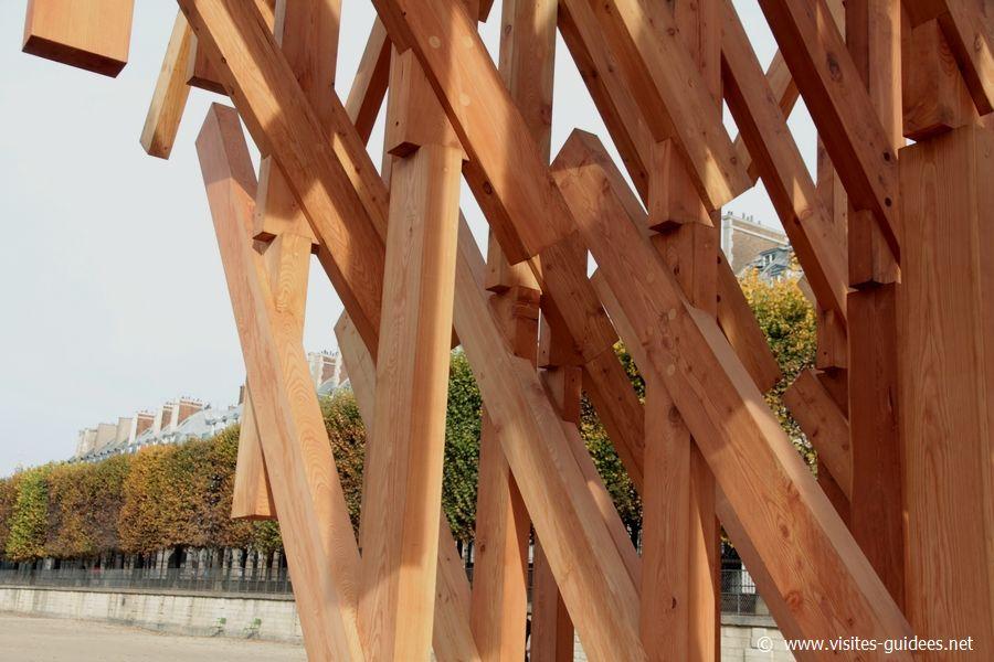FIAC 2015 Hors les Murs Les Tuileries Kengo Kuma Yure