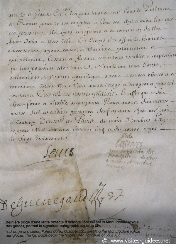 Louis XIV Saint Gobain