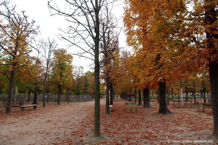 Jardin des Tuileries Paris