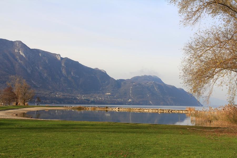 Plage des Mottets Le Bourget du Lac