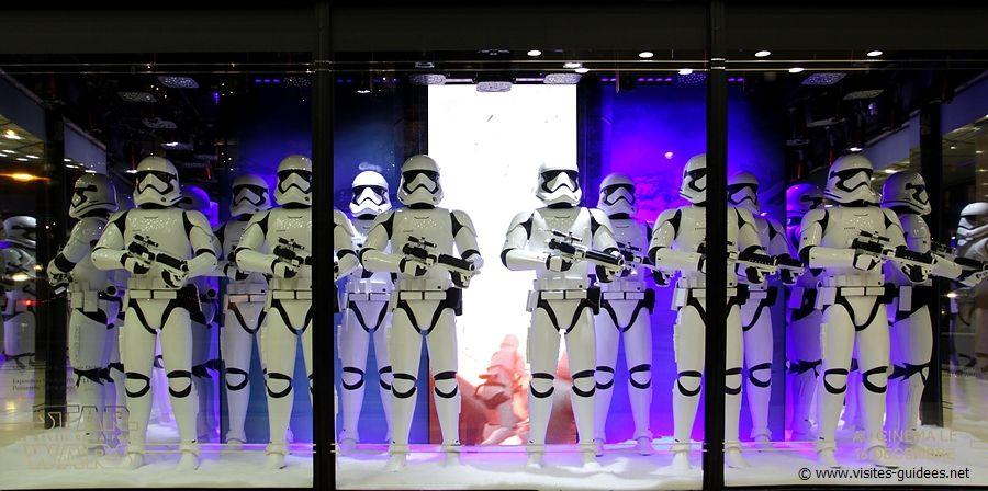 Vitrines des Galeries Lafayette Star Wars