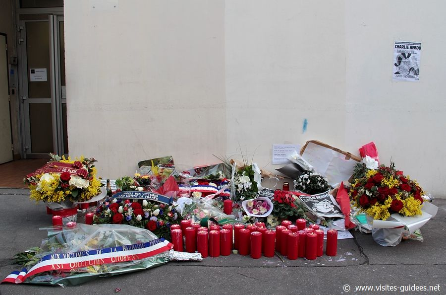 Hommages aux victimes des attentats de janvier 2015