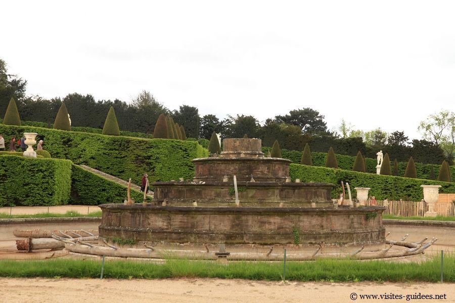 Restauration du Bassin de Latone Château de Versailles