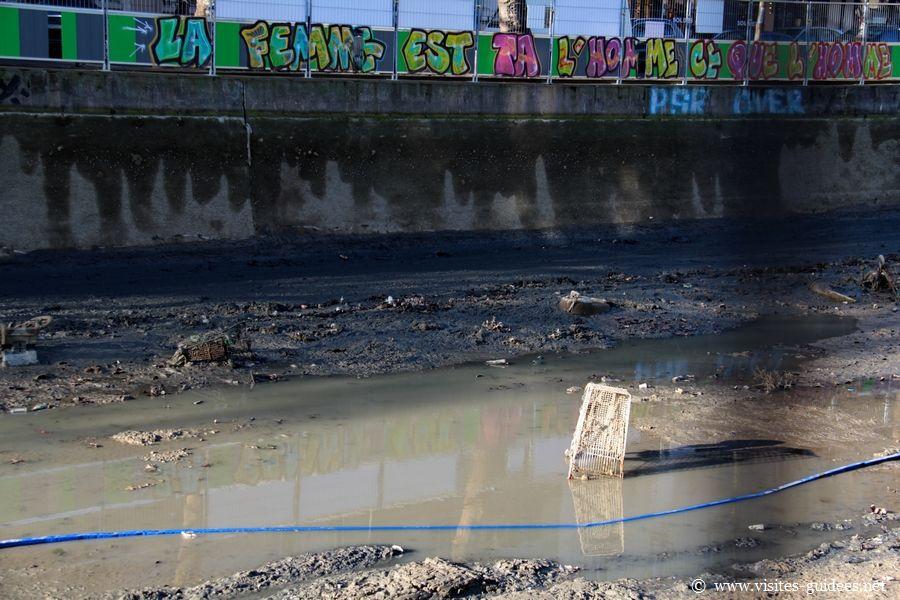 Chômage du Canal Saint-Martin