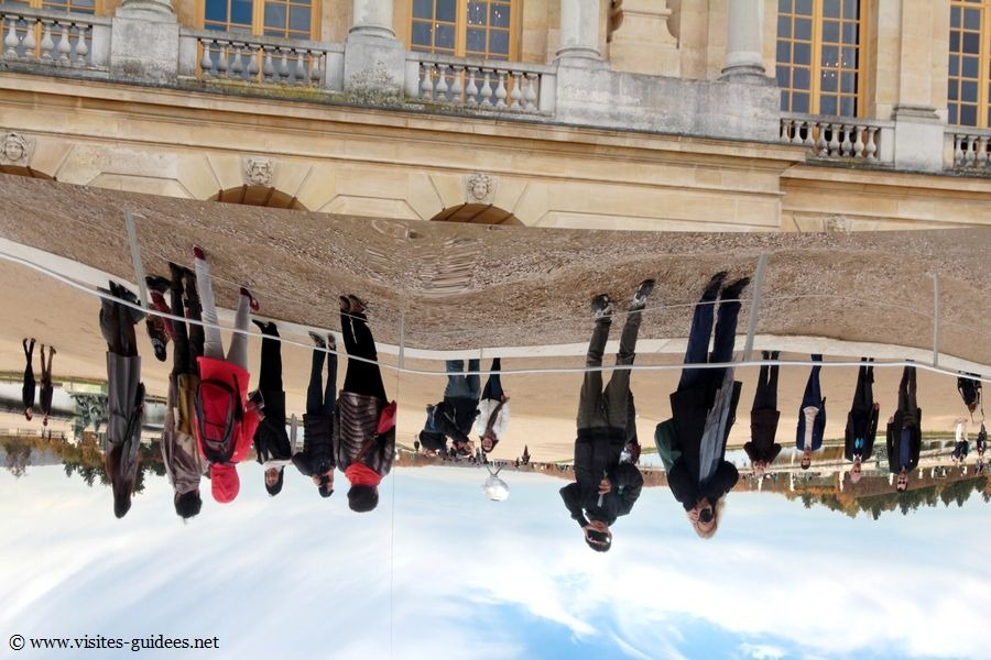 Anish Kapoor met Versailles à l'envers