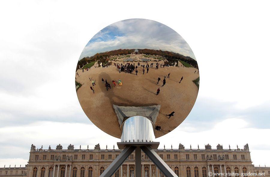 Anish Kapoor Sky Mirror Versailles