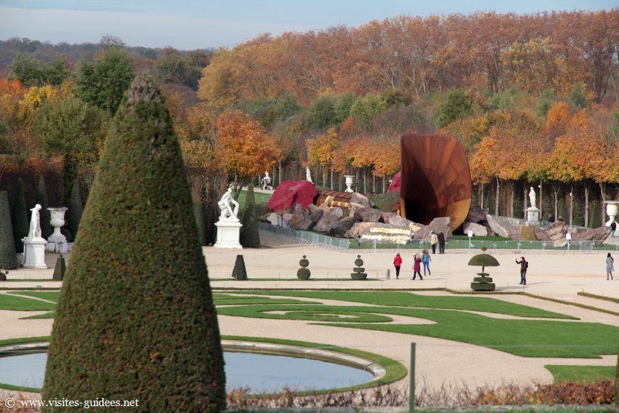 Anish Kapoor Dirty Corner Château de Versailles