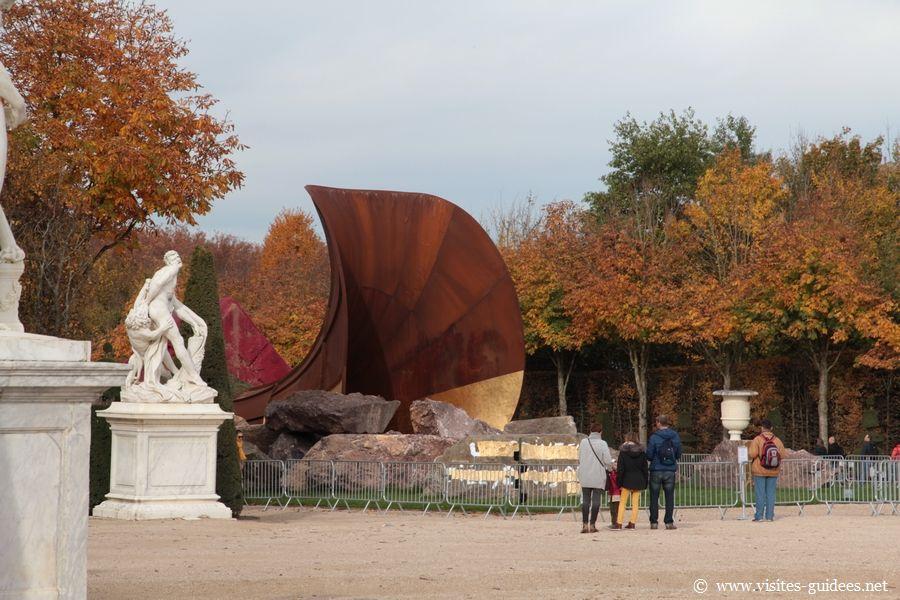 I Anish Kapoor Dirty Corner Château de Versailles