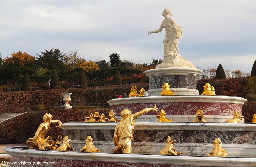Bassin de Latone Château de Versailles