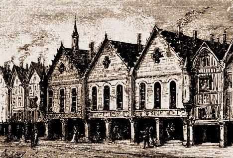 Maison aux Piliers Place de Grève Paris