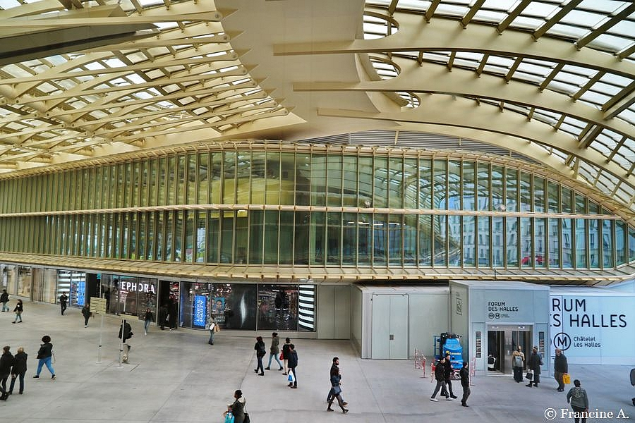 La Canopée des Halles Paris