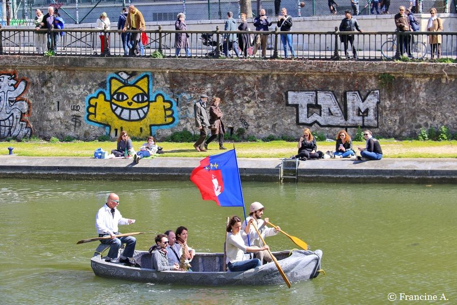 Un vaisseau de pierre pour le canal Saint Martin