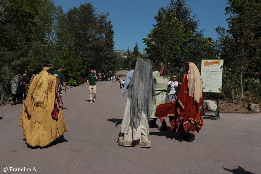 Les Médiévales Jardin d'Acclimatation