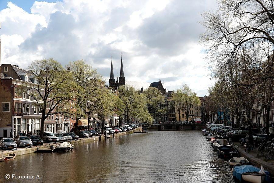 Amsterdam la ceinture de canaux ouest