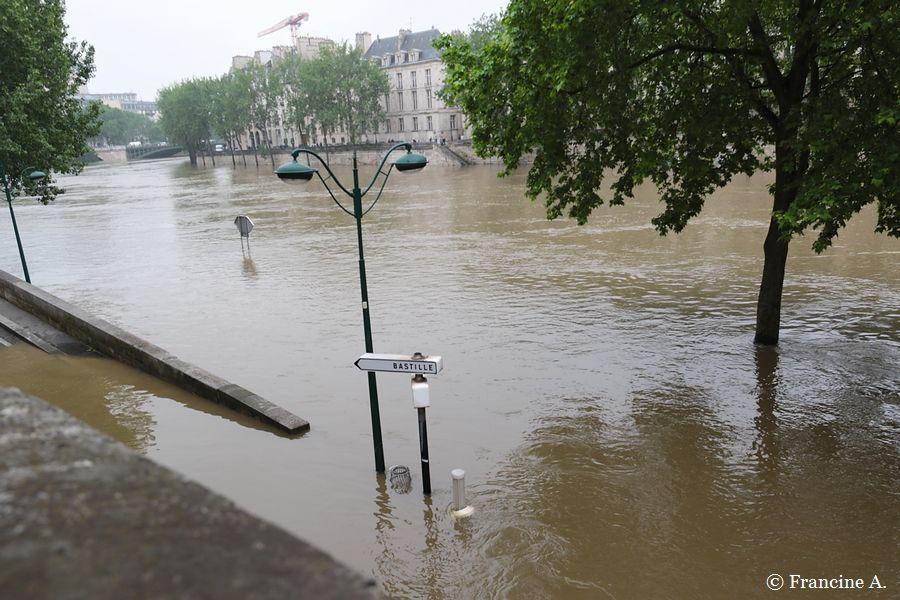 Crue de la Seine Juin 2016