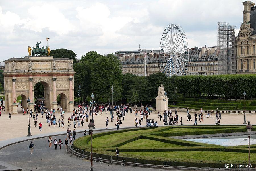Arc de triomphe Carrousel du Louvre Paris