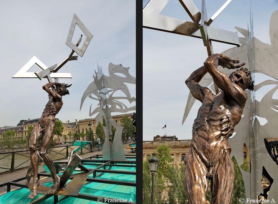 La Passerelle enchantée Passerelle des Arts Paris