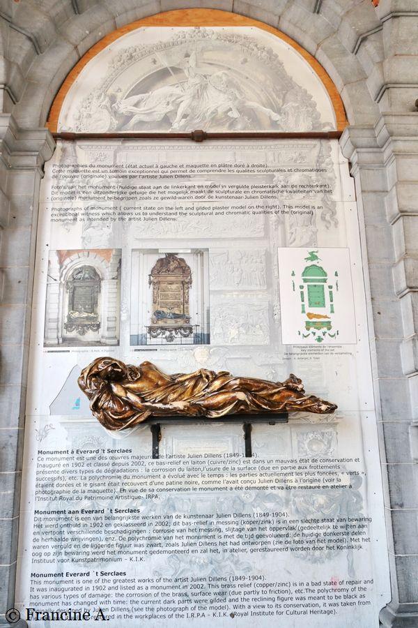 Monument à t'Serclaes Bruxelles