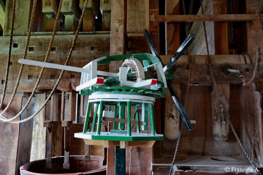 Le moulin à teinture De Kat Le Chat Zaanse Schans