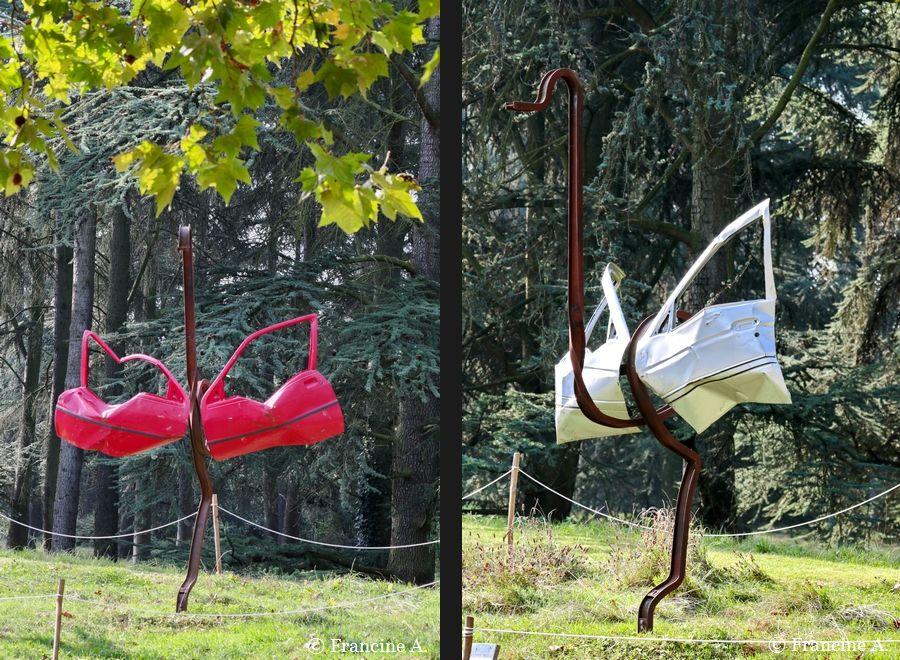 Autruches Portes Ouvertes Parc floral De Paris