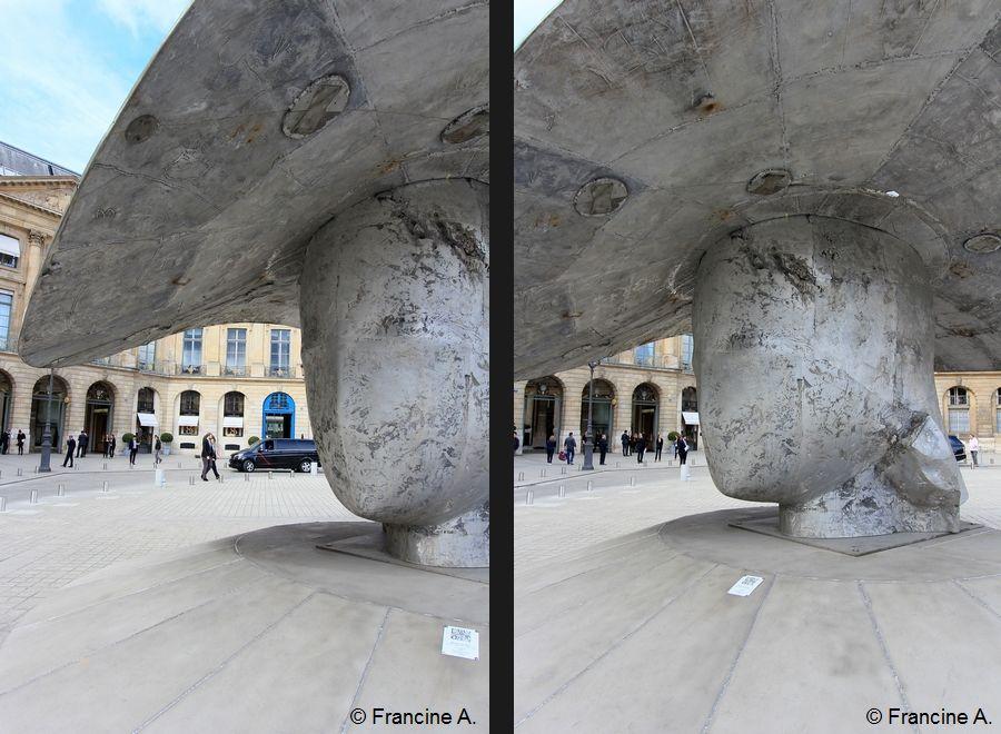 Manolo Valdès Place Vendôme La Pamela