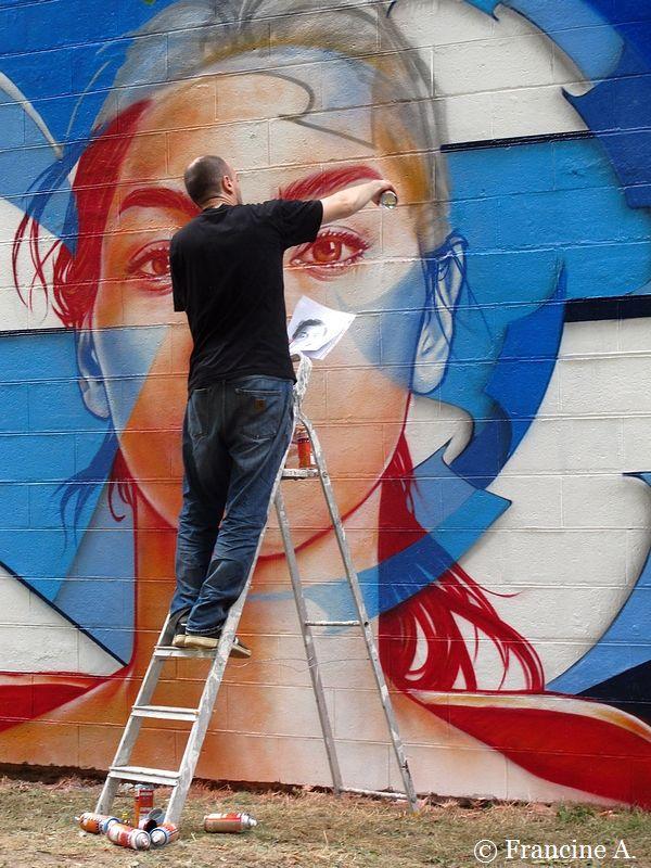 Choisy le Roi une fresque pour La Marseillaise
